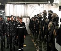 ختام التدريب البحري المصري الفرنسي «كليوباترا – جابيان 2019»