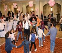 صور| رحاب صالح تُحيي «حفل الأيتام»
