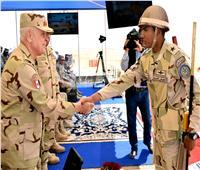 رئيس أركان حرب القوات المسلحة يشهد إحدى مراحل المناورة «بدر 2019»