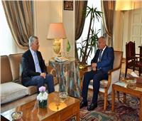 سفير طاجيكستان بالقاهرة يلتقي «أبو الغيط» ومسئولين بالخارجية