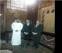 وزير الاتصالات ونظيره السعودي يزوران قصر محمد علي