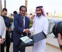 وزير الاتصالات السعودي وسفير المملكة يلتقيان بالطلبة السعوديين في القاهرة