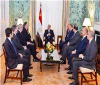 السيسي: شراكتنا الاستراتيجية ركيزة مهمة للحفاظ على الأمن والاستقرار بالشرق الأوسط