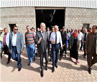 وزير الإسكان يتفقد مشروع المجمعات الصناعية الصغيرة والمتوسطة