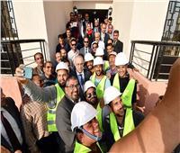 وزير الإسكان يتفقد محطات معالجة الصرف الصناعي بالعاشر من رمضان