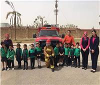 زيارة تثقيفية لطلبة المدرسة المصرية للغات بمطار القاهرة