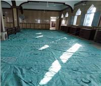 استجابة لـ«بوابة أخبار اليوم»| الأوقاف تجهز مسجد بالغربية قبل رمضان