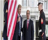 ترامب: مصر حققت تقدمًا كبيرًا فيما يتعلق بمكافحة الإرهاب