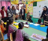 وفد من «اليونيسف» يزور عددا من المدارس للاطلاع على تجربة «الدمج»