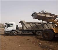 إزالة 40 طن مخلفات صلبة من ورش «جرارات» السكك الحديدية