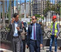 صيانة وتطوير المعالم الحضارية والتاريخية لاستاد الإسكندرية