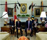 ترامب يعلق على استقباله السيسي بالبيت الأبيض: شرف عظيم