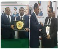 تكريم «الأصمعي» و«عسكر» في جامعة دمنهور