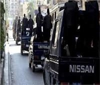 ضبط 18 حكما جزئيا و8 حالات اشتباه في حملة أمنية بالعمرانية