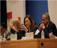 وزيرة التخطيط تترأس جلسة «إعادة التفكير في عدم المساواة في البلدان العربية»