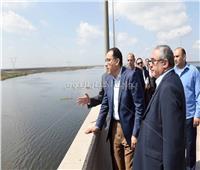 رئيس الوزراء يتفقد مشروع إنشاء ميناء الصيد برشيد|صور