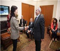 رئيس الأكاديمية العربية للنقل يبحث سبل التعاون مع قنصل عام الصين بالإسكندرية
