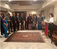 السفارة المصرية بالهند تستعرض أولويات التعاون مع أفريقيا
