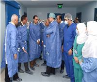 رئيس الوزراء يشيد بخدمات المعهد الطبي القومي التخصصي في دمنهور
