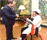 فيديو  سهام نصار: فخورة بلقاء الرئيس السيسي