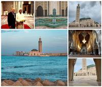 يسع 125 ألف مصلٍ.. أكبر مسجد في أفريقيا يطفو على مياه المغرب
