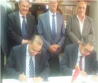 مصلحة الضرائب توقع بروتوكول تعاون مع الغرف التجارية ببورسعيد