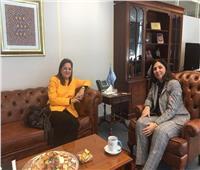 وزيرة التخطيط تلتقي بالأمين التنفيذي للجنة الاقتصادية والاجتماعية لغربي آسيا