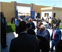 وزيرة التضامن تصل المنيا لافتتاح مركز العزيمة لعلاج الإدمان