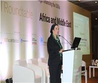 وزيرة البيئة تشارك في المائدة المستديرة لتأهيل السوق بإفريقيا والشرق الأوسط