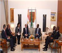 رئيس كوت ديفوار: سعيد بنجاح العلاقات «المصرية - الإيفوارية» بمجال المقاولات
