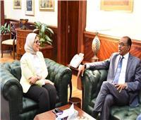وزيرة الصحة تبحث إطلاق حملة للكشف عن «الإيدز» بالتعاون مع «الأمم المتحدة»