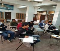 صور| دورات تدريبية مجانية للقضاء على البطالة بجامعة حلوان