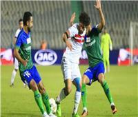 المصري يعزز تقدمه على الزمالك بالهدف الثاني