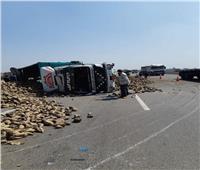 مصرع عاملين وإصابة 5 آخرين في حادث بالمنوفية