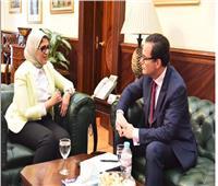 خطوات «هامة» من وزيرة الصحة تجاه المشروع القومي لتصنيع مشتقات البلازما