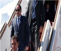 بالصور  الرئيس السيسي يصل إلى العاصمة السنغالية داكار