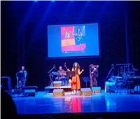نوران أبو طالب تلهب «حكاوي الجاز» مع الفرقة الهولندية