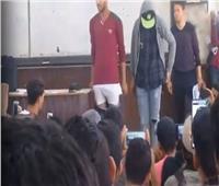 تفاصيل فيديو أستاذ بالأزهر أجبر طالبين على خلع ملابسهما