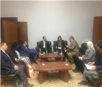 «الزراعة» تبحث مع سفير شيلي زيادة التبادل التجاري في مجال الإنتاج الحيواني