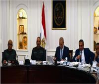 وزير الإسكان ورئيس الهيئة الهندسية يتابعان تنفيذ المشروعات المشتركة
