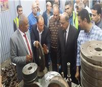 صور  رئيس مصر للطيران للخدمات الأرضية يلتقي العاملين ويتفقد أعمال التصنيع
