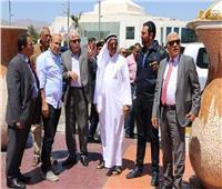 محافظ جنوب سيناء يبحث تطوير مدينة شرم الشيخ