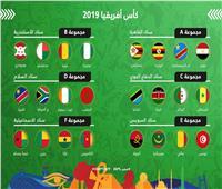 تعرف على ملاعب مجموعات أمم أفريقيا 2019