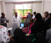 علاج ١٩٩٢ مواطن مجانًا في قرية النوافعة بالشرقية