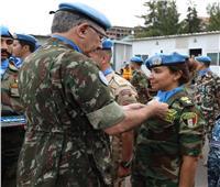القومي للمرأة يهنئالرائد شريهان ابو الخير لمنحها ميدالية الأمم المتحدة