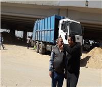 وزيرة البيئة توجه بسرعة رفع تراكم المخلفات في منطقة الكيلو 4.5 بمدينة نصر