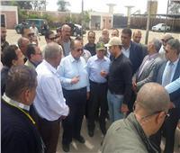وزير الزراعة يتفقد مزارع قطاع الإنتاج ومحطة إعداد التقاوى بكفر الشيخ