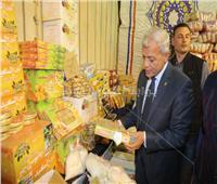 محافظ المنوفية يفتتح معرض مستلزمات شهر رمضان بقويسنا