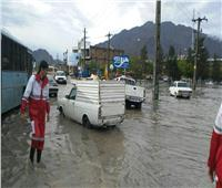 ارتفاع حصيلة قتلى الفيضانات والسيول في إيران إلى 76 شخصا