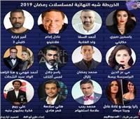 12 عملا مؤكدا عرضها حتى الآن .. خطة مسلسلات رمضان 2019